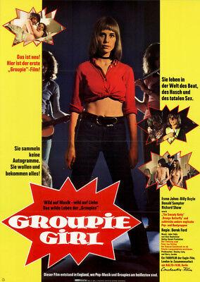 Groupie Girl Original A1 Kinoplakat Esme Johns / Donald Sumpter Zur Verbesserung Der Durchblutung
