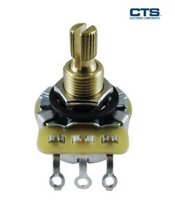 CTS-Audio-Potentiometer-Split-Shaft-Various-values-and-tapers