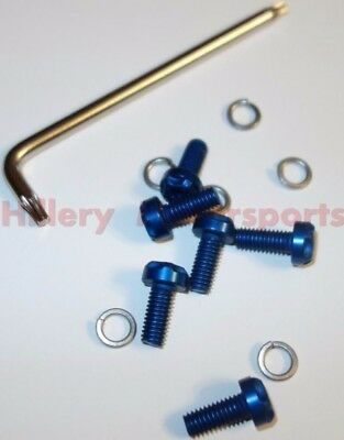 005-001-B Two Brothers Racing Bolt Kit Anodized Aluminum Blue