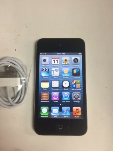 1 of 1 - Apple iPod touch 4th Generation Black (8 GB) - Good Working Condition - N/C