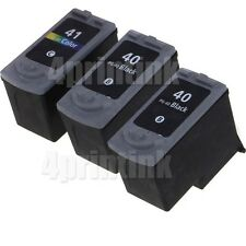 3 pack PG-40 CL-41 Ink for Canon PIXMA MP210 MP450 MP460 MP470 show Ink lev