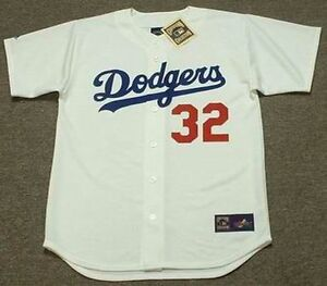 Image is loading SANDY-KOUFAX-Los-Angeles-Dodgers-1963-Majestic-Cooperstown- 48b3ca6fd