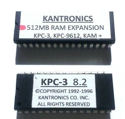 Kantronics KAM TNC Firmware and 512KB Memory Upgrade
