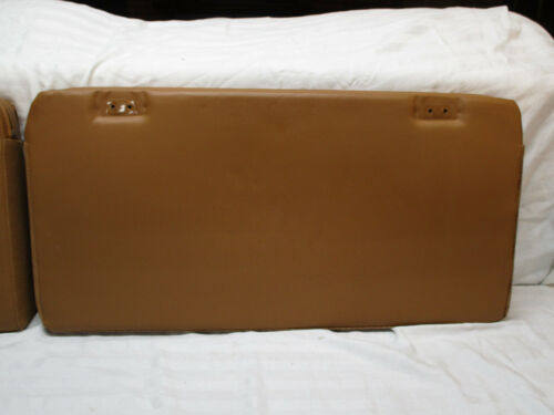 87-96 DODGE DAKOTA EXTENDED CAB CAMEL TAN CLOTH REAR FOLD DOWN SEATS /& HINGES