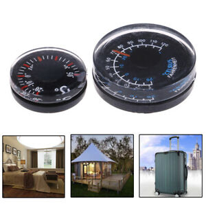 5pcs Dia 20mm Plastic Thermometer Circular Thermograph Fahrenheit Indoor OutdoTE