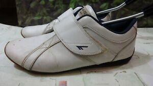 hi tec mens white casual trainers shoes size 9uk/43EU di