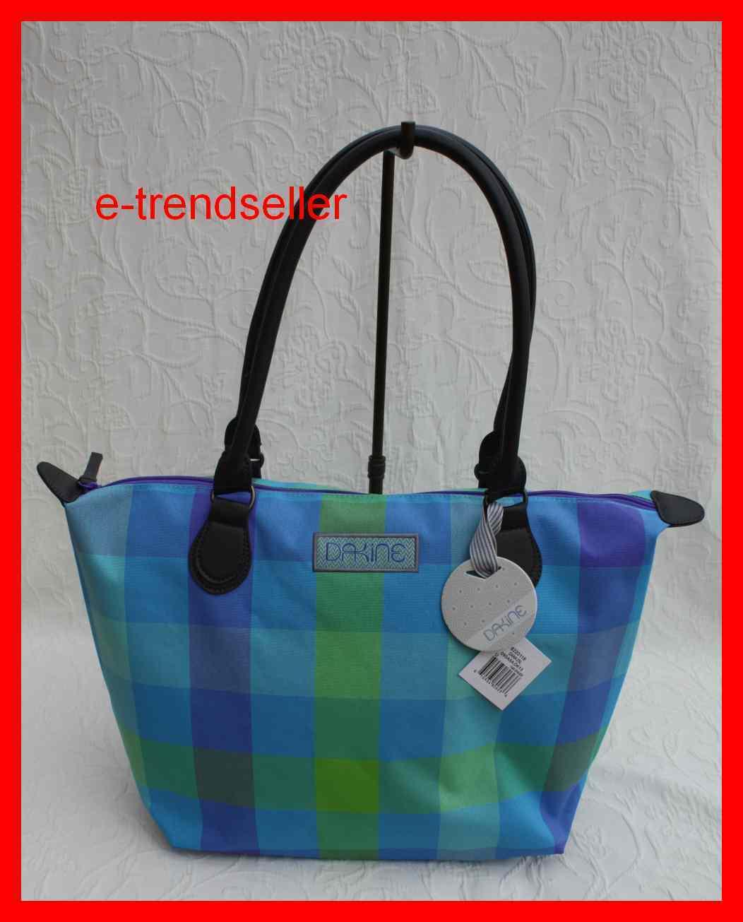Dakine Dana Ginger Schultertasche blau grün Handtasche Shopper   Reichlich Und Pünktliche Lieferung    Discount    Ausgezeichnete Leistung