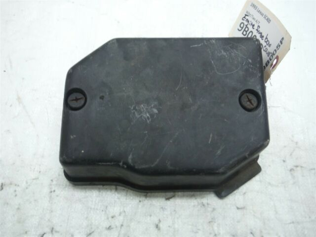 1993 Lexus Sc400 A  T Engine Bay Room Fuse Box Cover Chart