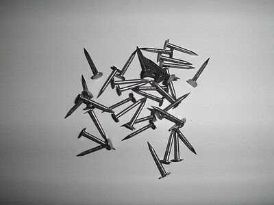 Aggressiv 200 Gurtstifte Für Jutegurte, Geriffelter Schaft, 20mm Lang