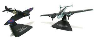 ATLAS-OXFORD-1-72-DUELLING-NIGHT-FIGHTERS-RAF-SPITFIRE-MKVB-MESSERSCHMITT-BF110G