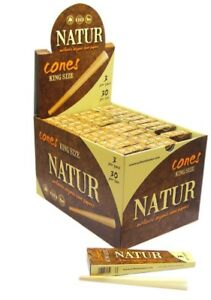 Natur-Organic-King-Size-3-cones-per-pack-Various-Variations-sold-by-eTrendz