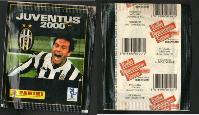 Bustina Figurine Juventus 2000! Nuova! Sigillata! Ed.Panini