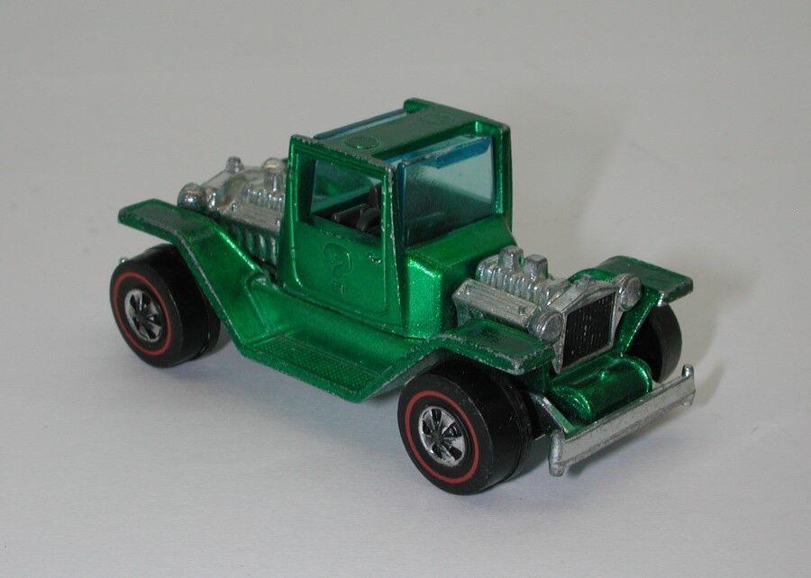rojoline Hotwheels verde 1971 T42 t-4-2 oc15168