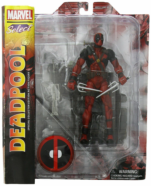 Marvel Comics Classic Deadpool Wade Winston Action Figure Diamond Select XMEN