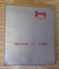 "17"" Harrison VS450 CNC Lathe Operation Manual 450mm Turning Center"