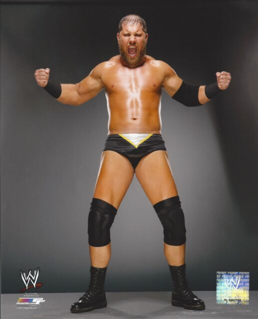 CURTIS AXEL WWE LICENSED WRESTLING 8X10 AUTHENTIC PHOTO NEW #986