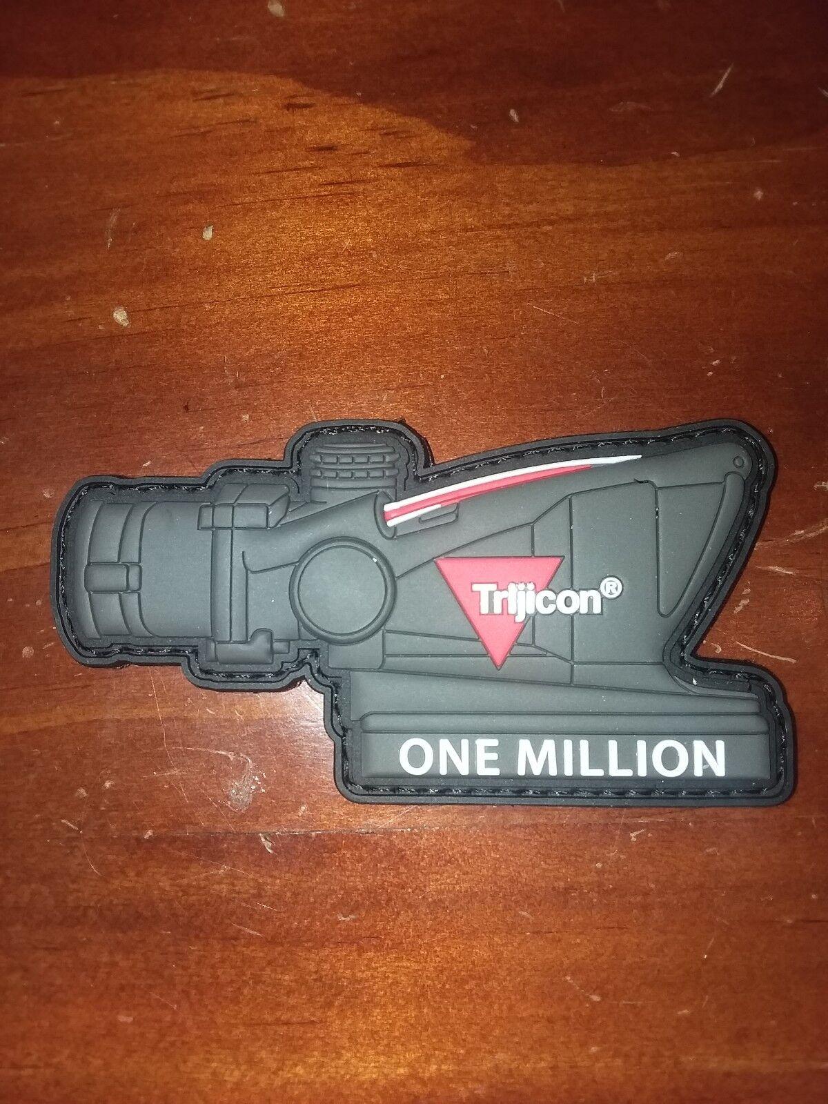 SHOT SHOW 2019 TRIJICON Patches ACOG 1 Millionen verkauft Jubiläum
