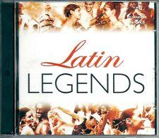 Latin Legends (2003) 2CD NUOVO Elvis Presley. Los Lobos. Los Del Rio. Lou Bega