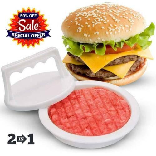 Kitchen Hamburger Meat Beef Maker Grill Burger Patty Mould Press Mold Tools