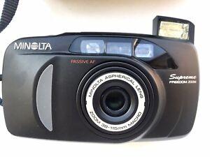 appareil photo argentique compact Minolta Supreme 38-115mm
