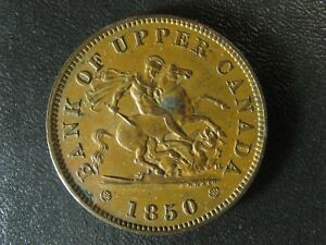 PC-6A1-One-Penny-1850-token-Bank-of-Upper-Canada-Breton-719