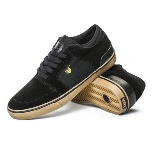 MENS VOX TROOPER 2 SKATEBOARDING SHOES NIB BLACK GUM
