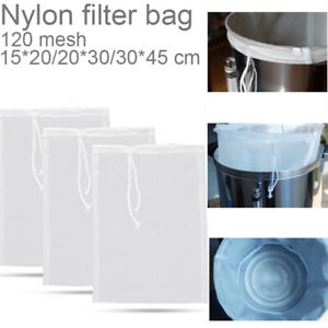 Strainer Food Special Nut Milk Fine Mesh Nylon Cloth Cheese Filter Coffee Bag