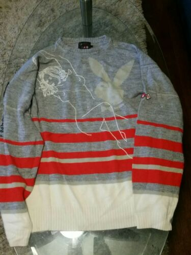 Playboy Echo skiing swater mens  size XL