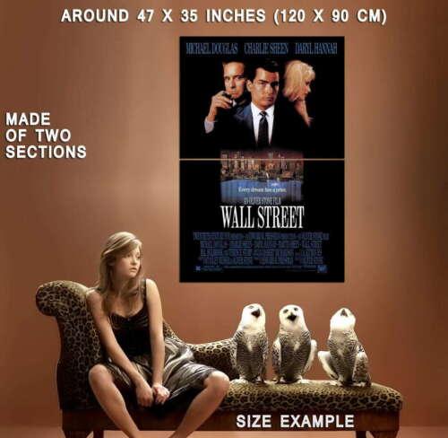 65415 Wall Street Movie Michael Douglas harlie Sheen Decor Wall Print POSTER