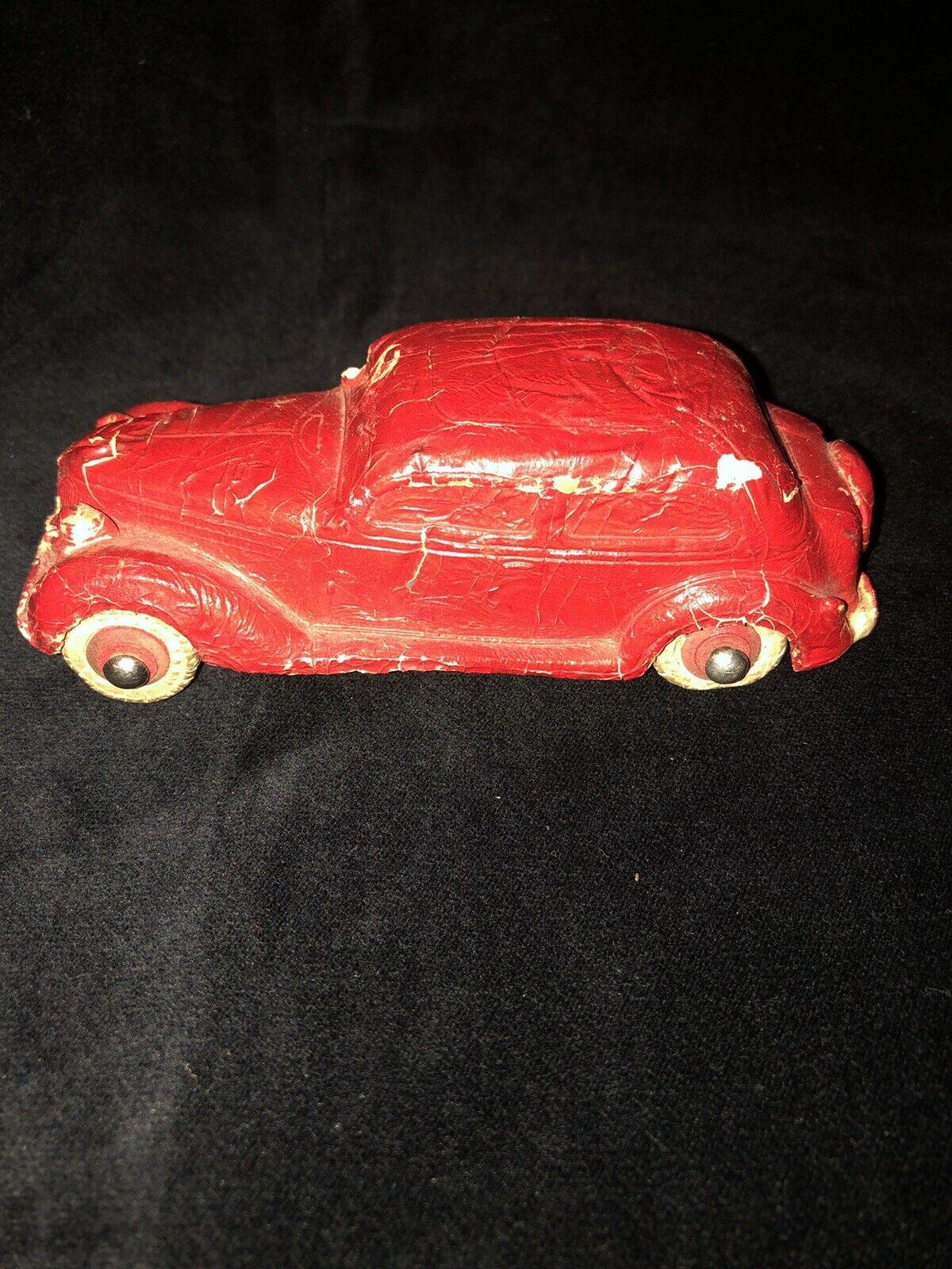 Antique Cast Iron rot Car Art Deco Toy GREAT LAKES EXPOSITION