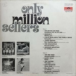 LP, Various, Only Million Sellers
