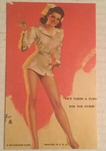 Image Is Loading Vintage 1940 039 S Zoe Mozert Pin Up
