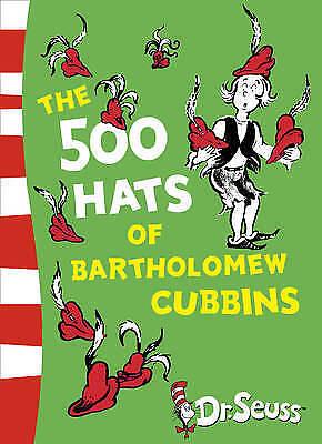 1 of 1 - NEW, DR. SUESS, THE 500 HATS OF BARTHOLOMEW CUBBINS