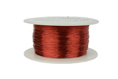 TEMCo 28 AWG Copper Magnet Wire 8 oz 994 ft 155/°C Magnetic Coil Green