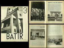 BATIR N°3 1933 ADRIEN BLOMME, RENE HERBST