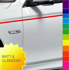 Zierstreifen Seitenstreifen Auto 2mm 3 4 5 6 7 8 9 10 MATT & GLANZ Folie Tuning