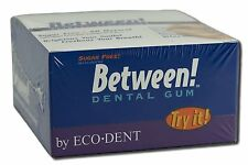 Eco-Dent Between Dental Gum - Wintergreen - Case of 12 - 12 Pack