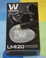 NEW Westone UM Pro20 High Performance Dual Driver Noise-Isolating MonitorsReplac