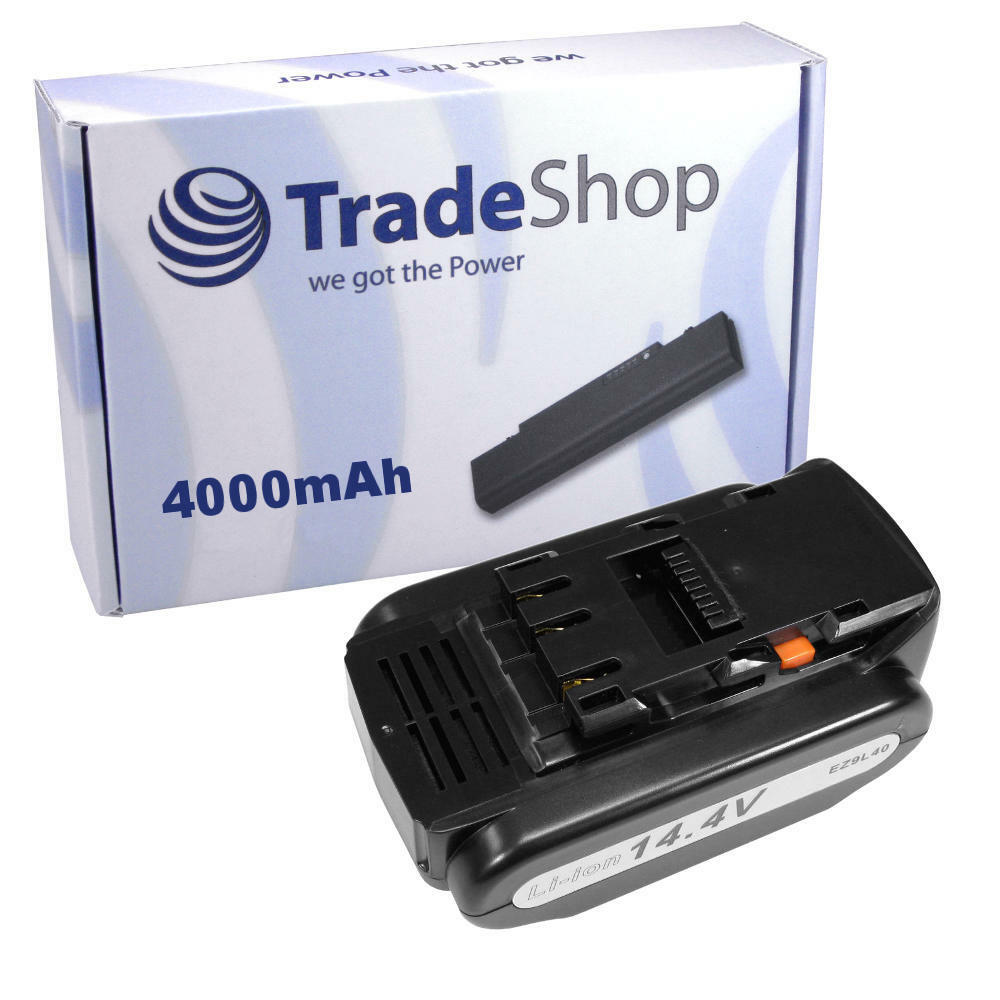 Akku 14,4V 4000mAh Li-Ion Battery für Panasonic EZ7547X-H EZ7548 EZ7548LE2S