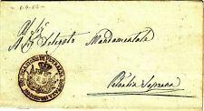 Z16923-SICILIA, FRANCHIGIA, DA PETRALIA SOTTANA A PETRALIA SOPRANA, 1862