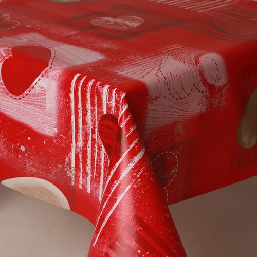 Plain Texturé Milano Beige Stone Pvc Vinyle Table Nappe Cuisine Dîner moderne nouveau