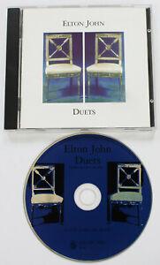 Details about ELTON JOHN Duets PROMO CD album UK George Michael/Leonard  Cohen/Little Richard