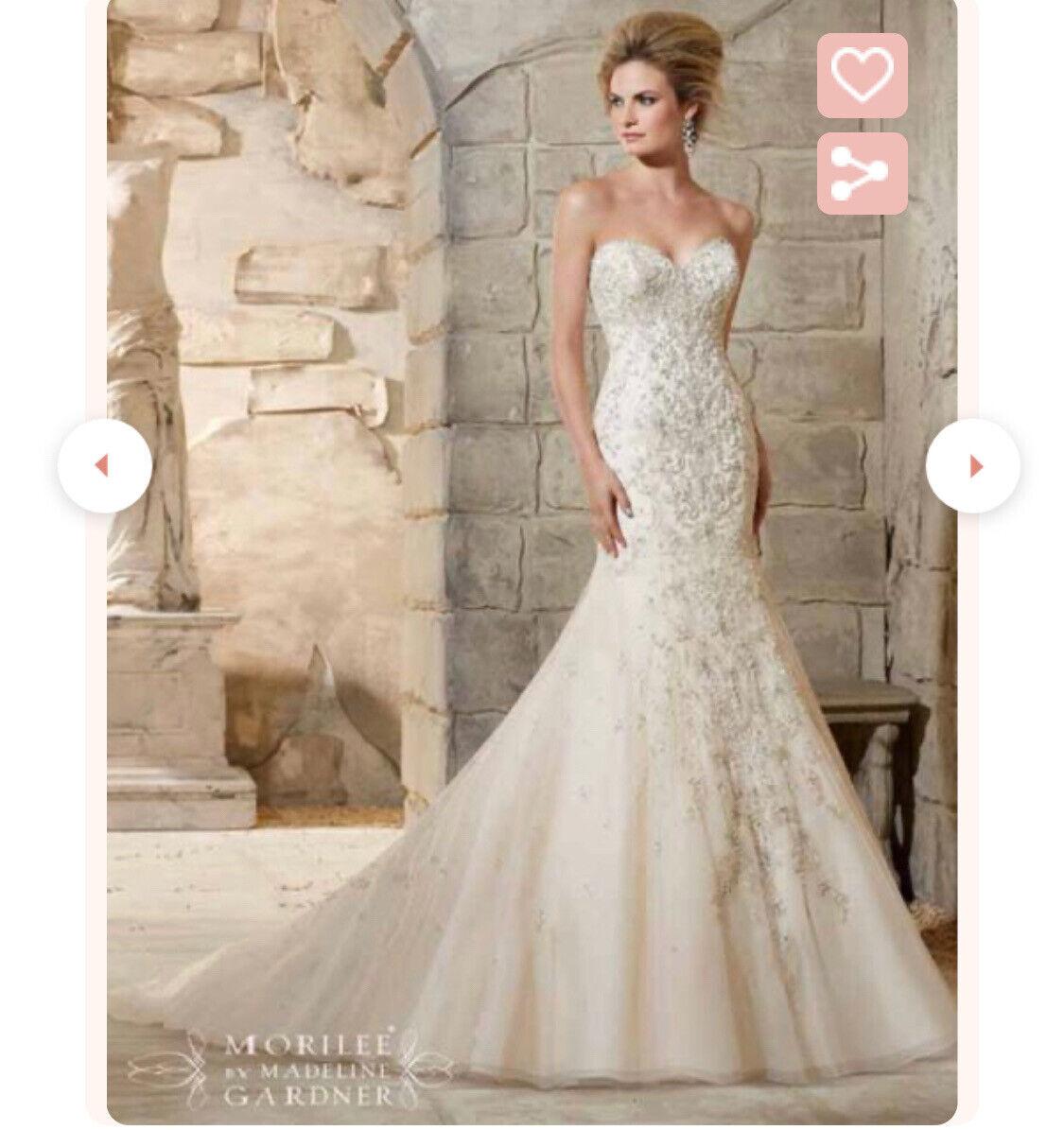 Mori Lee 2790 Wedding Dress Size 12