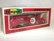 Diapet 14-0366, Fuso Feuerwehr Drehleiter, Aerial Ladder Fire Truck, 1/60 OVP