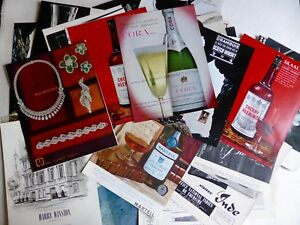 Crafts Collage Supplies 200 Affiche Publicité Années 60 Décoration Scrapbooking Collage Art Publicitaire