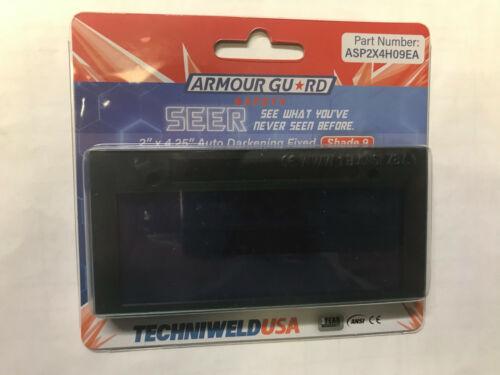 Techniweld USA Auto Welding Lens 2x4 Shade 9 ASPSEER2X4 Grinding Solar Shade 3