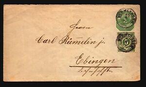 Germany-1897-Uprated-Stationery-Cover-Z16899