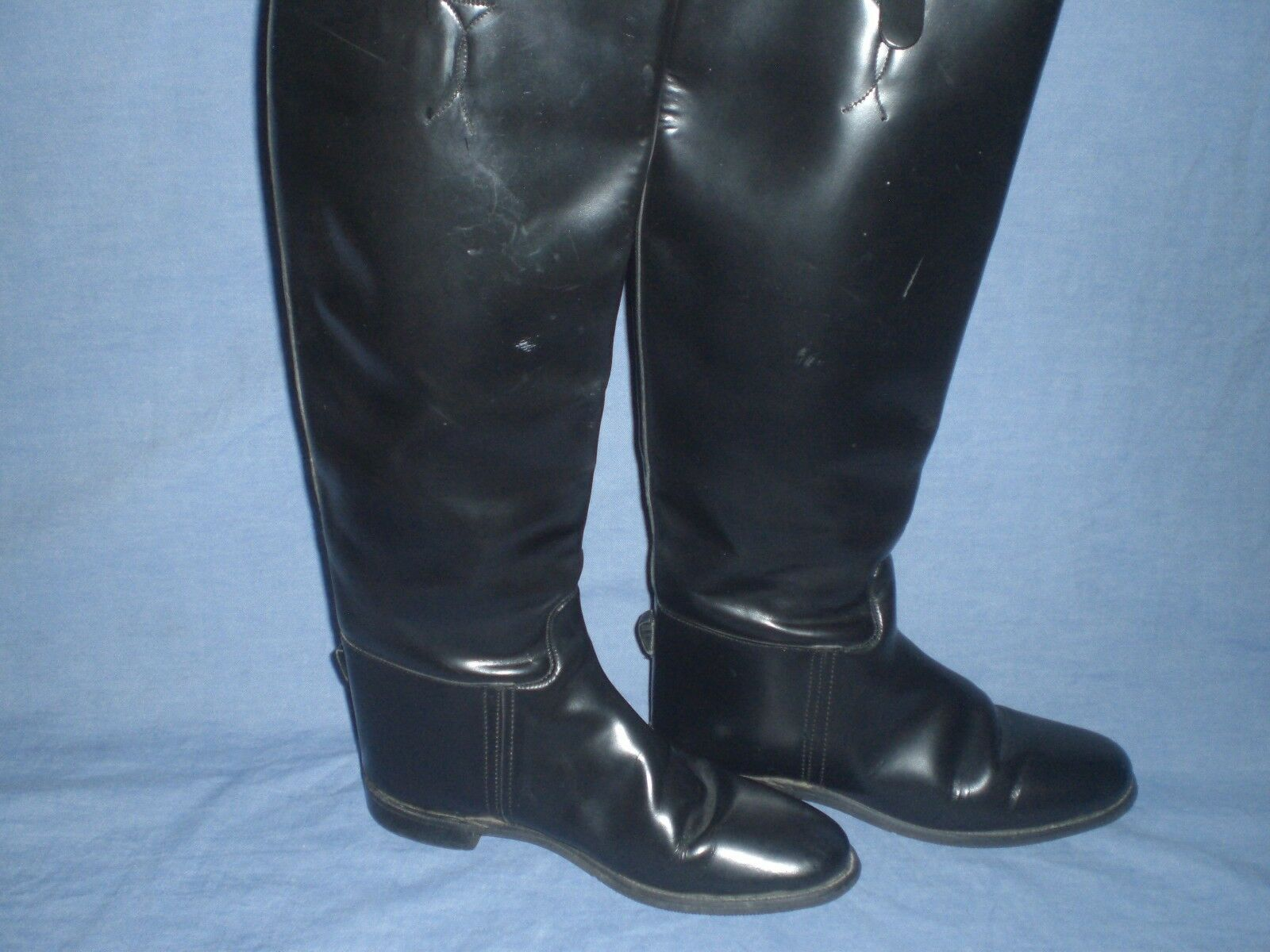 England Imperial Marlborough English Equestrian Boots Black Womens size 6
