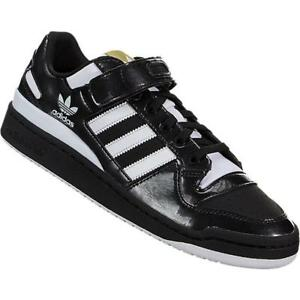 quality design 31bb9 91016 Image is loading ADIDAS-ORIGINALS-FORUM-LO-PATENT-BY4155-CORE-BLACK-