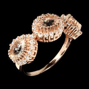 TOP-MORGANITE-RING-Natuerliche-Rosa-Morganit-Ring-Gr-17-75-925er-Silber-R315